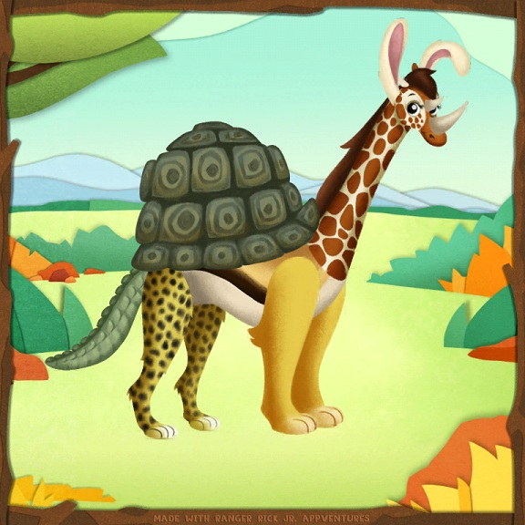 Ranger Rick Jr. Animal Fun For Young Children October 2016