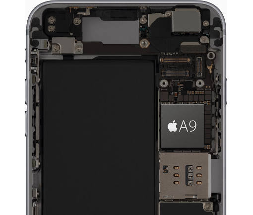 Apple iPhone A9 chip