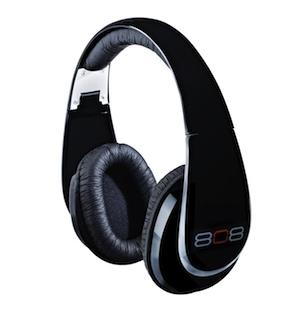 808 Studio Headphones HPA88BKG