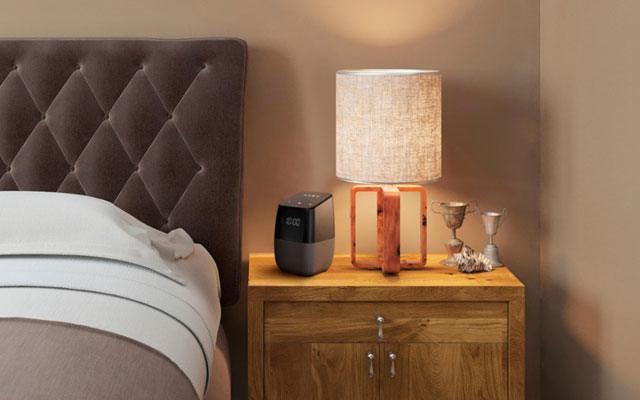 Best for the bedroom: Insignia Voice Speaker alarm clock