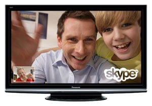Panasonic TV with Skype