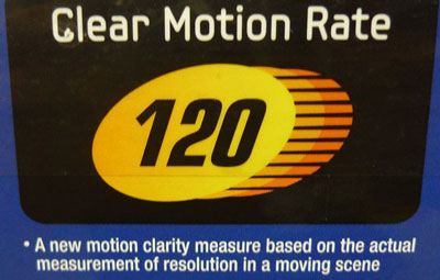 Samsung Clear Motion Rate