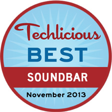 Techlicious Best Soundbar November 2013