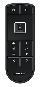 Bose clickpad remote