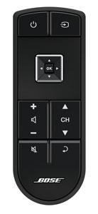Bose clickpad remote