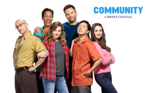 Community cast photo from Yahoo!