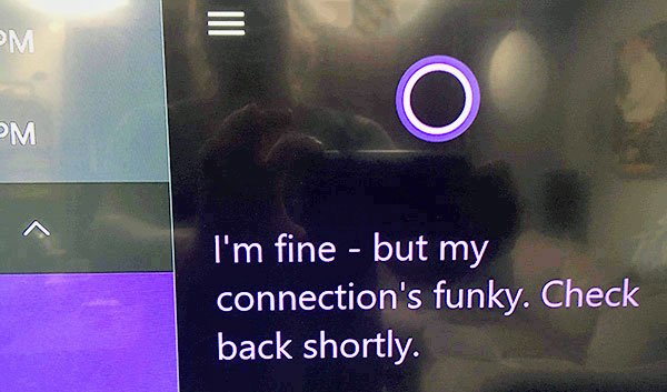 Cortana fail on Xbox One S