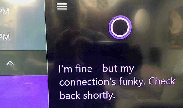 Cortana fail on Xbox One S