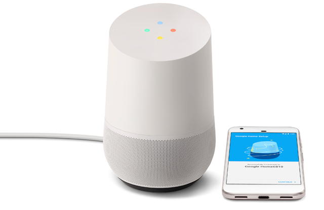 Google Home: The first real competitor to Amazon's Echo with its Alexa household assistant
