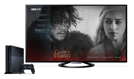 HBO Go on the PlayStation 4