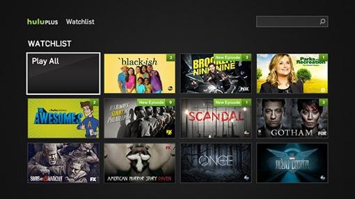 Hulu Plus Watchlist