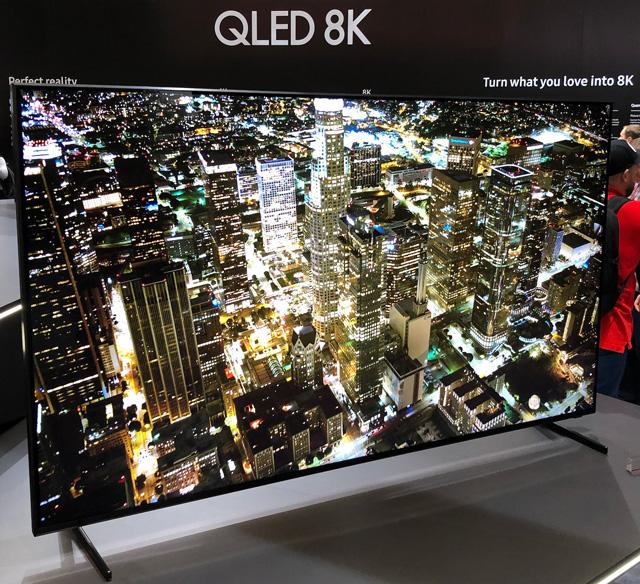 Samsung Q900FN QLE 8K TV