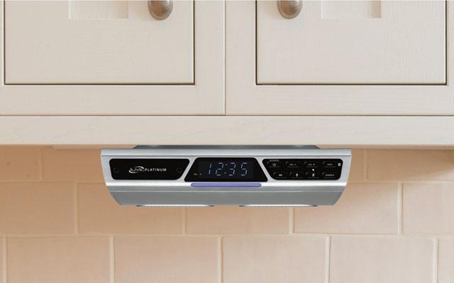 Best for the kitchen: iLive Platinum Wireless Under Cabinet Speaker