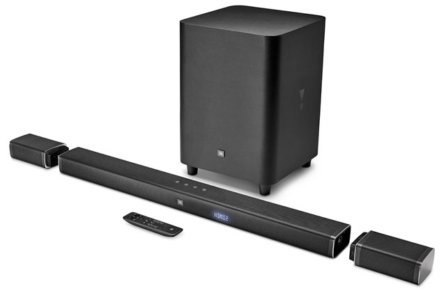 Add cinema-quality sound to your home theater: JBL BAR 5.1