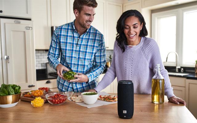 Best portable outdoor speaker: JBL Link 20