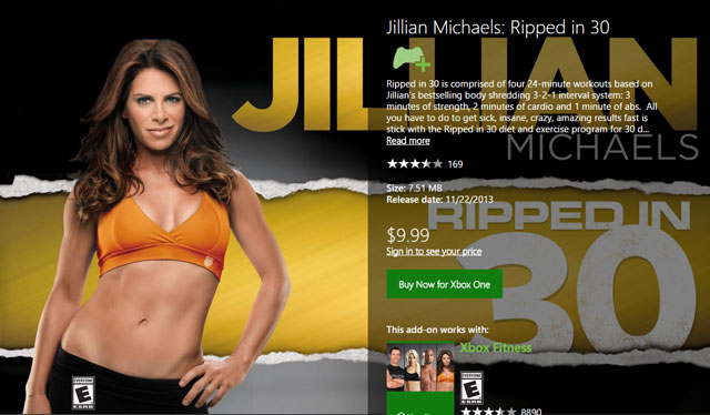 Jilian Michaels: Ripped in 30