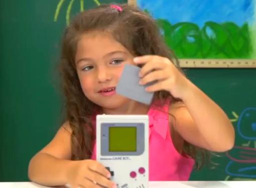 Kids React to the original Nintendo Game Boy