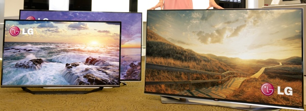 LG's 2015 Ultra HDTV lineup