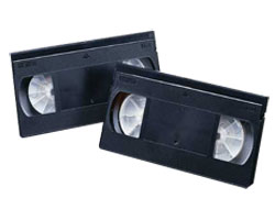 Maxell VHS tapes