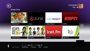 Microsoft Kinect Hub