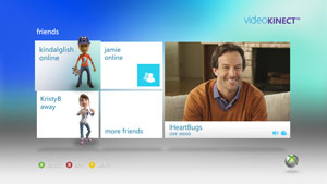 Microsoft Kinect Video Chat