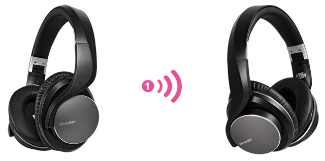 Best Headphones for Two:  Mixcder ShareMe