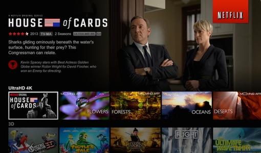 Netflix 4K UltraHD screenshot