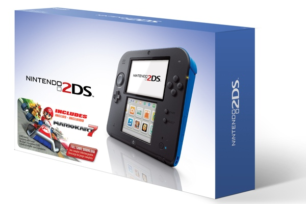 Nintendo 2DS + Mario Kart 7 bundle