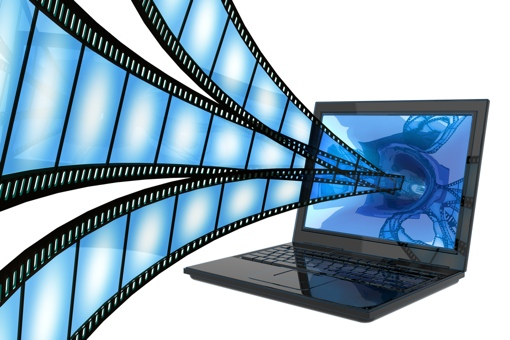 Online video streaming from laptop