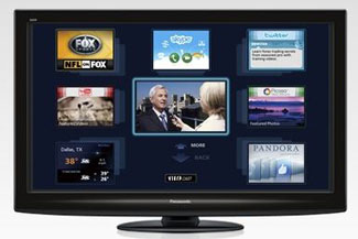 Panasonic TV with Apps