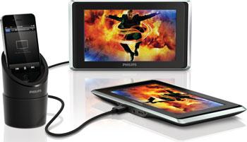 Philips TwinPlay Dual-Screen In-Car Display