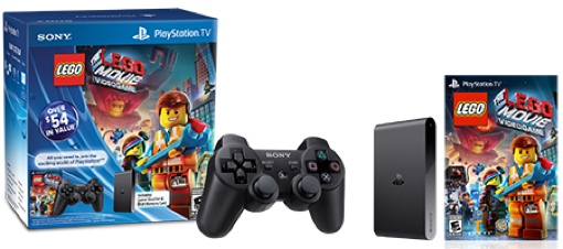 PlayStation TV Lego Movie bundle