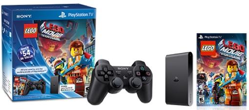 PlayStation TV Lego Movie bundle