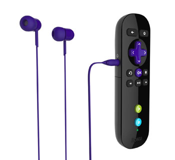 Roku 3 headphones