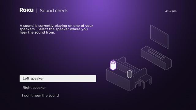 Roku surround sound setup
