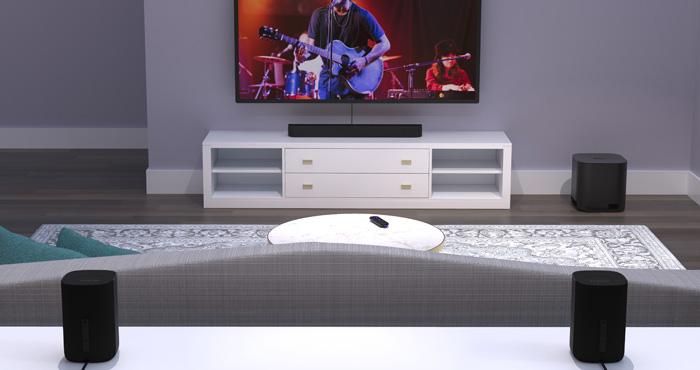 Roku Smart Soundbar Now Works with Wireless Surround Speakers