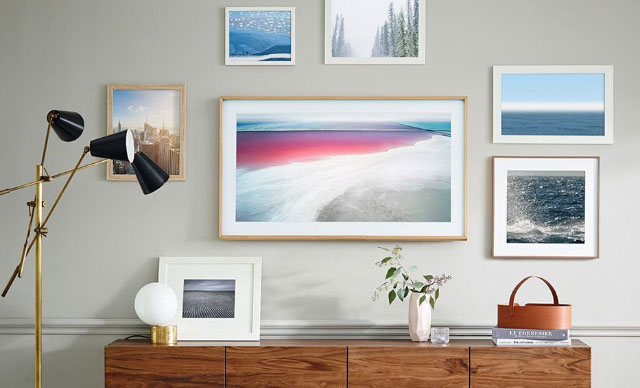 A television that blends into your decor: Samsung The Frame