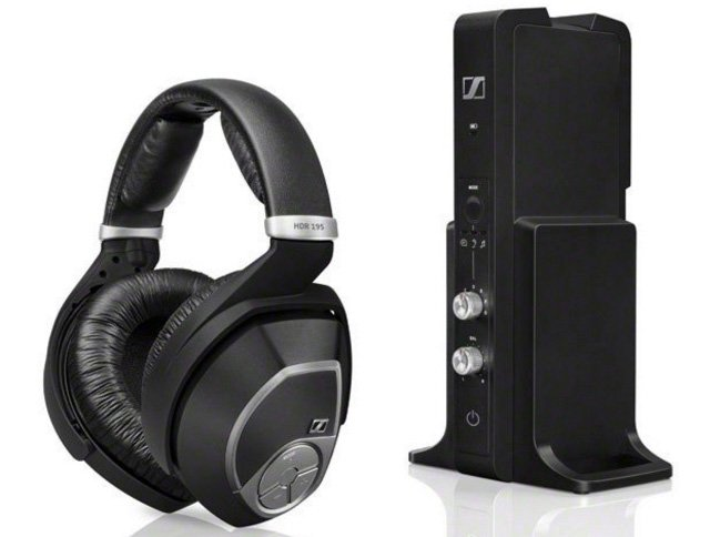Headphones for Best Possible Wireless TV Sound: Sennheiser RS 195 or RS 165