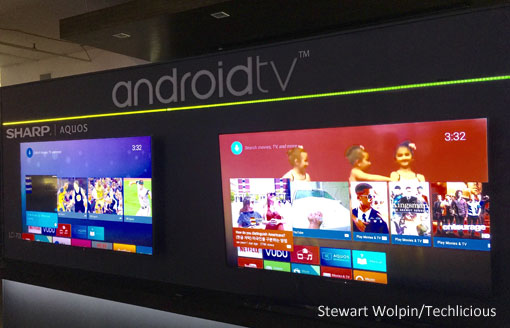 Sharp Aquos Android TVs