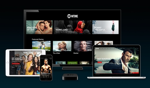 Showtime streaming service on Apple devices