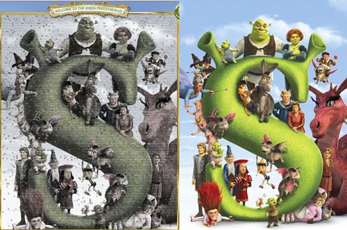 Shrek mosaic