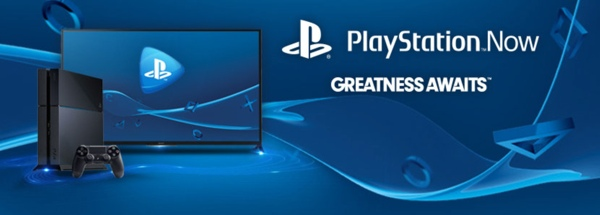 Sony PlayStation Now splash image