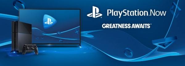 Sony PlayStation Now splash image