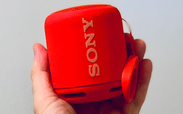 Best mini Bluetooth speaker: Sony SRS-XB10