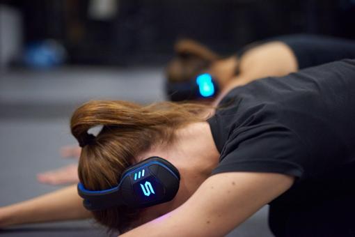 Soul Electronics Combat+ Sync worn by woman