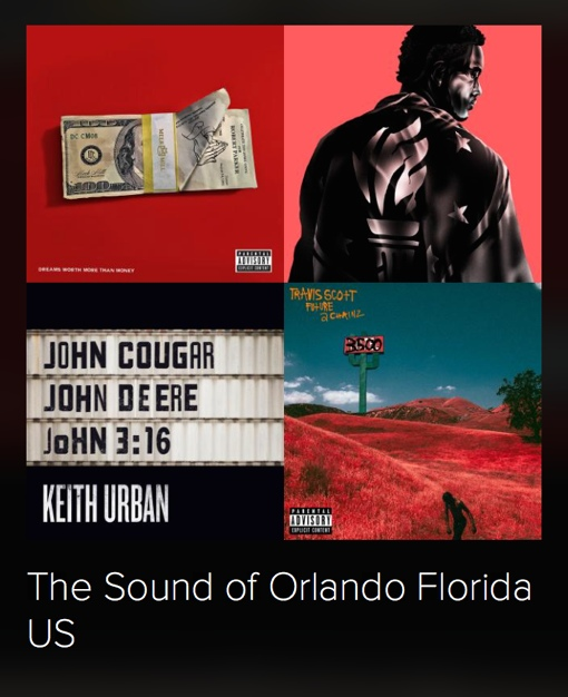 The Sound of Orlando: Spotify Musical Map