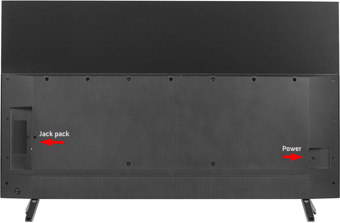 TCL 6-Series back
