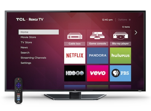 TCL Roku TV interface