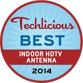 Techlicious Best Indoor HDTV Antenna