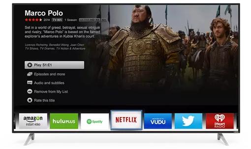 Vizio M-Series 2015 4K TV w/Netflix